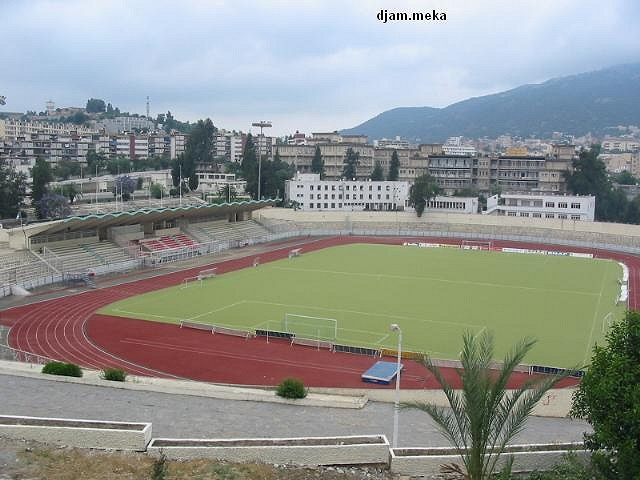 Vue sur le stade de Tizi Ouzou