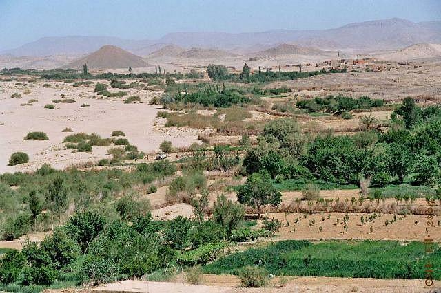 Vue sur la commune de Tazrouk, Tamanrasset