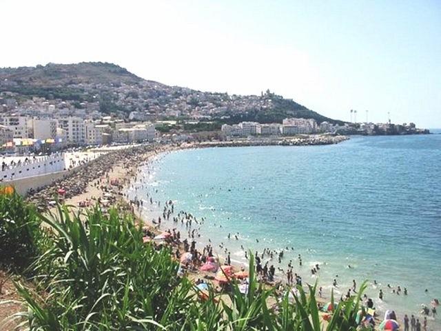 La plage Padovani, El Kittani, Alger