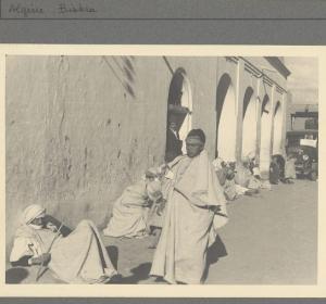 Rue dans la ville de Biskra
