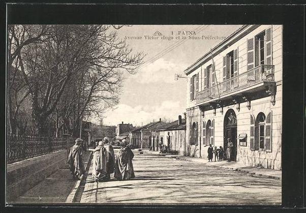 Cpa batna avenue victor hugo et la sous prefecture - Boutique avenue victor hugo ...