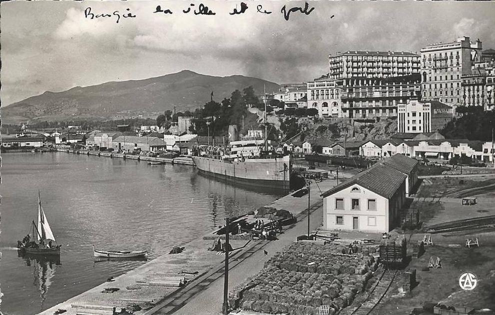 algerie bougie la ville et le port b 233 jaia
