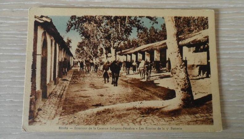 Algerie blida interieur de la caserne salignac fenelon for Interieur algerie