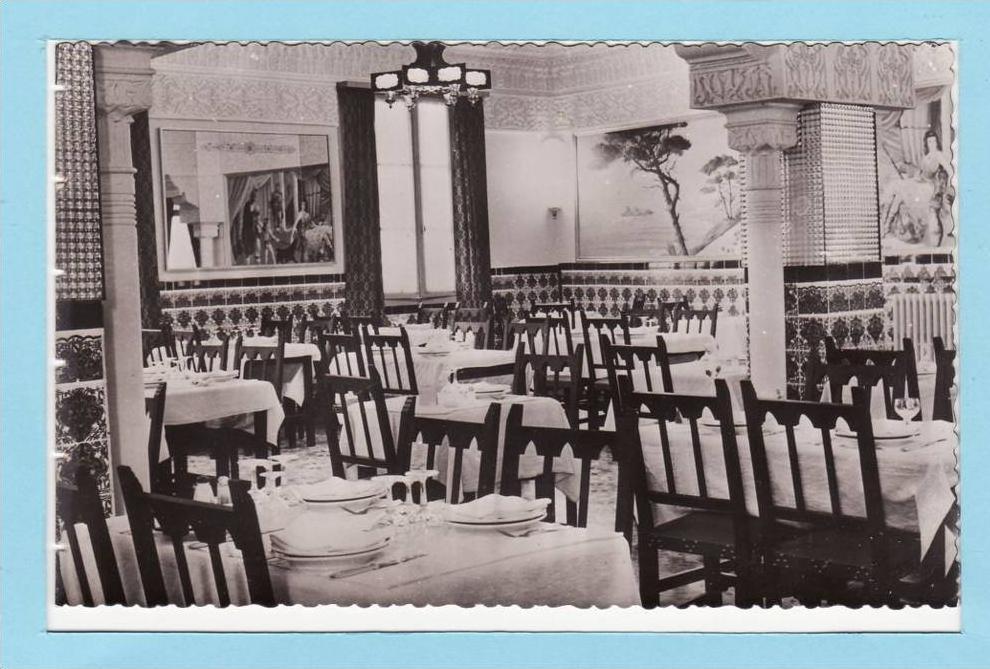 algerie medea 1961 htel atlantique la salle manger
