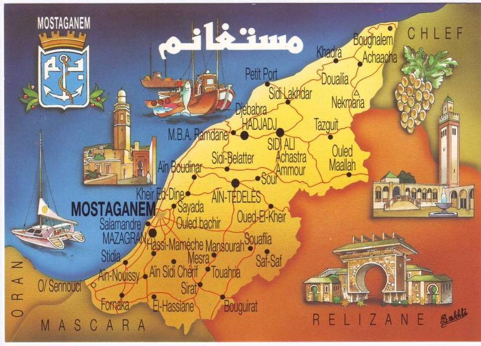 142946-algerie-mostaganem-cp-carte-geographique-tourisme