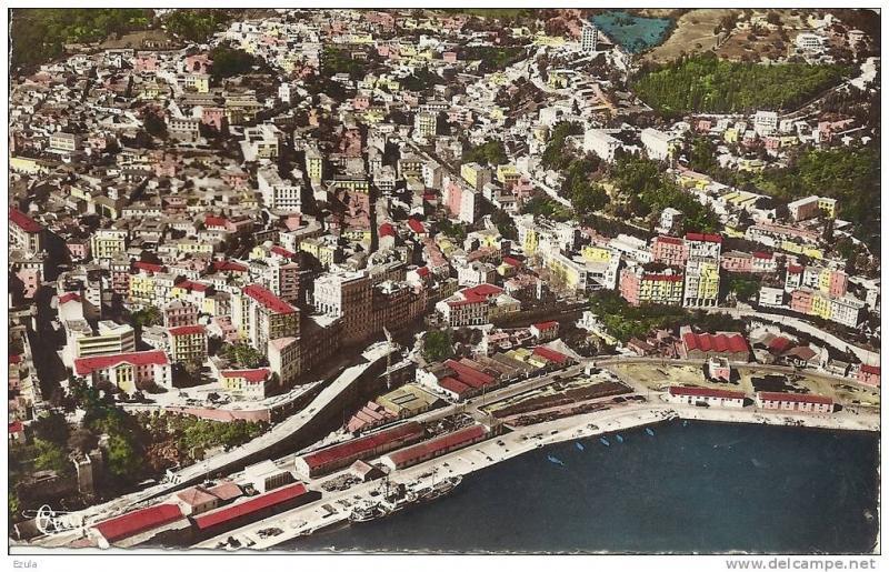 algerie bougie vue a 233 rienne de la ville s 233 tif