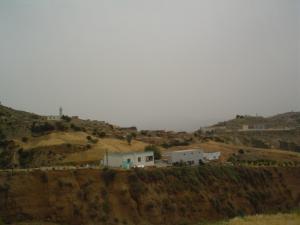 Vue sur la zaouia de Sidi Abdelkader el Djilali de Tafreg, B.B.Arreridj