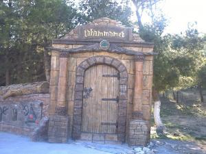 La porte d'El Madher (Tahammamet), Batna