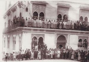 Ancienne photo de Dar el Hadith, Tlemcen