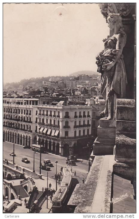 Afrique nord algerie fran aise alger 1950 boulevard de la for Chambre de commerce francaise en chine