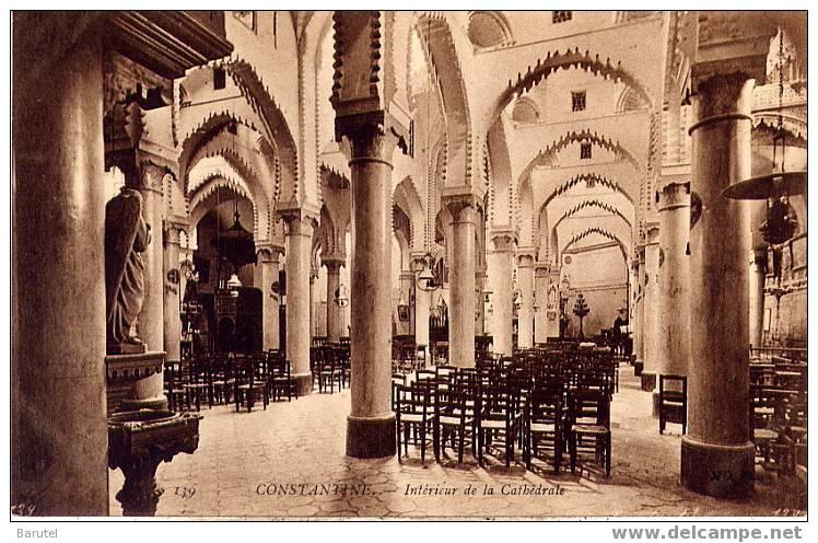 Constantine alg rie int rieur de la cath drale for Interieur algerie