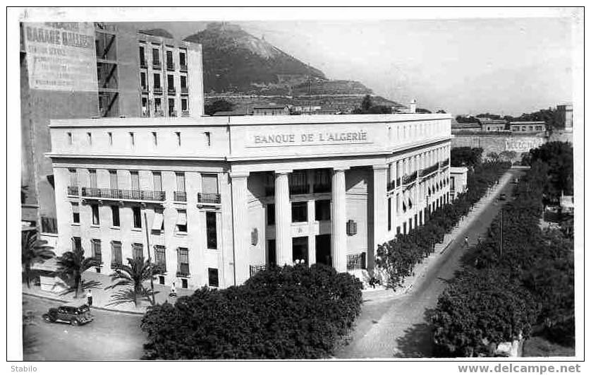 Algerie banques oran la banque d algerie for Banque exterieur d algerie