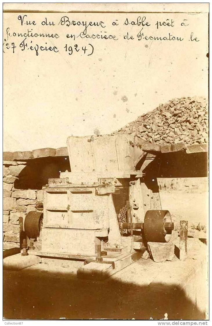 algerie environs de setif carriere de fermatou superbe carte photo du broyeur sable en. Black Bedroom Furniture Sets. Home Design Ideas