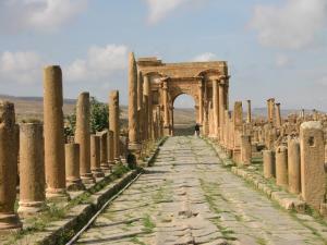 Timgad Arc de Trajan