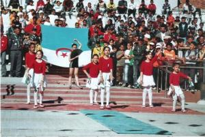 Ebauche de gymnastique à Tiaret