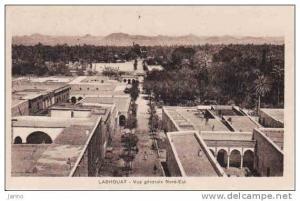 Algérie, Laghouat-vue générale Nord-Est **