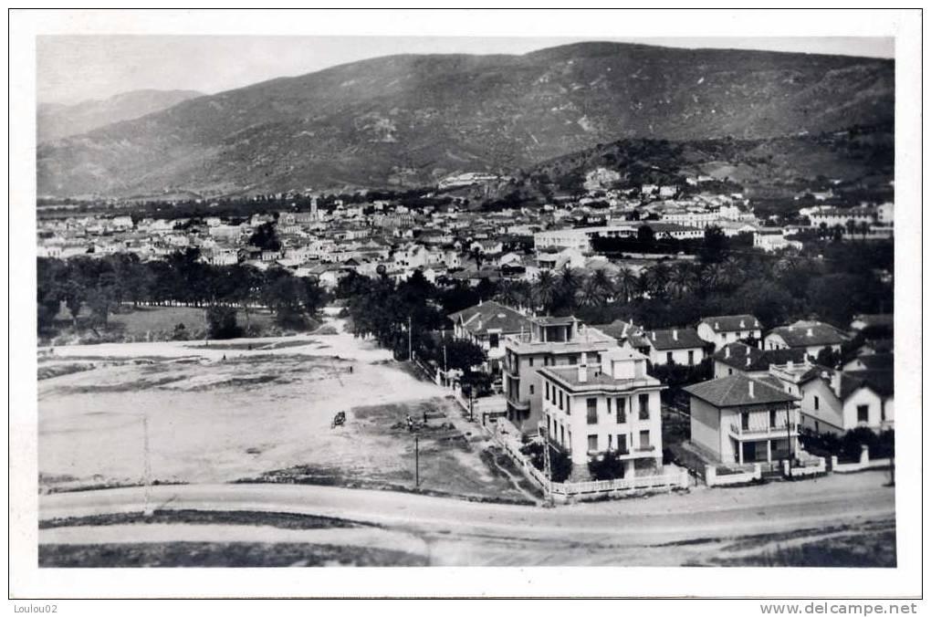 Algérie - BONE - quartier Beauséjour et vue générale de la colonne