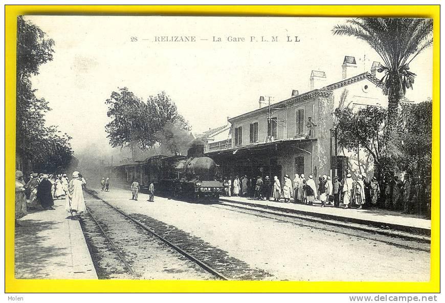 relizane la gare train vapeur algerie station trein. Black Bedroom Furniture Sets. Home Design Ideas