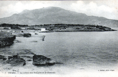 Carte Algerie Tipaza.Algerie Tipaza La Colline Des Temples Et Le Chenoua Carte Geiser