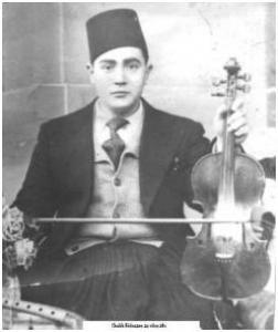 Cheikh Rédouane dans sa jeunesse