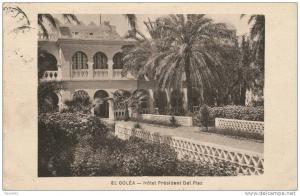 AFRIQUE - ALGERIE - ALGER - EL GOLEA - Hôtel President Dal Piaz