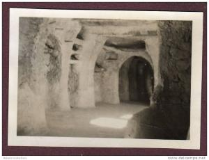 Belle photo ALGERIE 1932 - EL GOLEA - PUITS - INTERIEUR