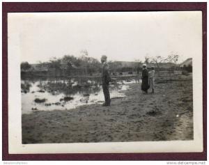 Belle photo ALGERIE 1932 - EL GOLEA - HOMME ET GARCONNETS