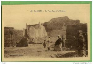 432 El Golea le vieux Ksar et la Marabout