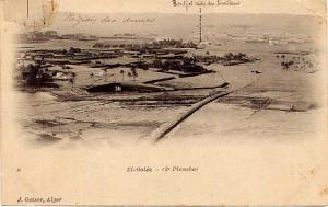 EL GOLEA (Algérie) - Vue générale - Région des Dunes - Bordj et Cases des Tirailleurs