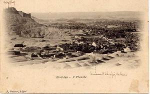 EL GOLEA (Algérie) - Vue générale. Ancien Village et Commencement de la région des dunes