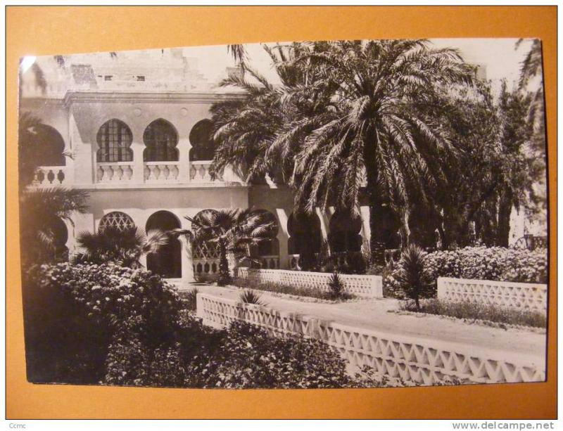 CPM Algerie - Ligne du Hoggar - El-Golea (El Menia) - H�tel dal Piaz (S.A.T.T.)