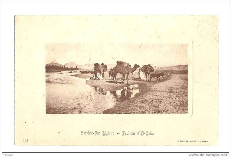 cp, Alg�rie, Extr�me Sud Alg�rien, Environs d'El Gol�a