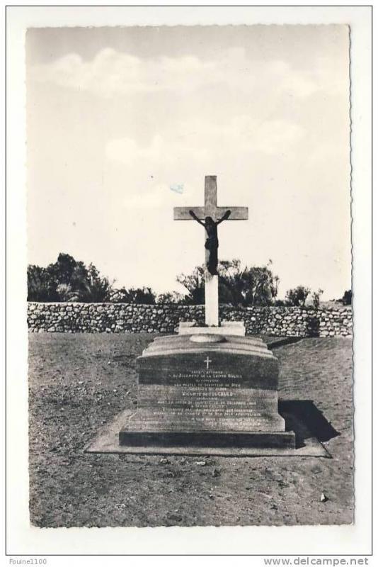 carte de el golea tombeau du R.P ch de foucauld