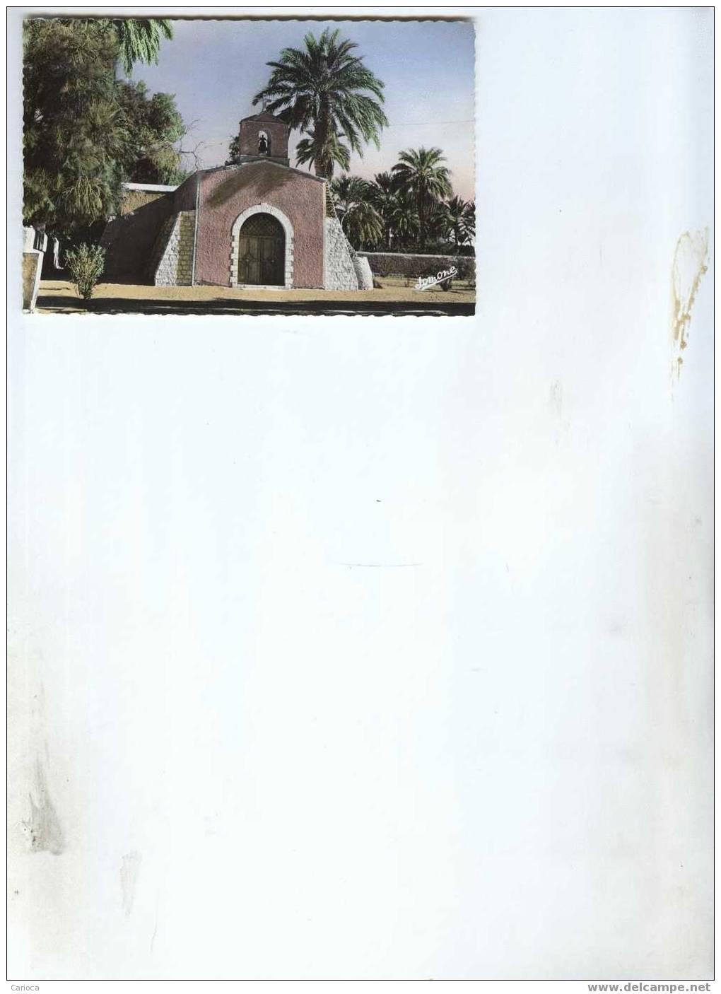 CP EL GOLEA L EGLISE EN 1961