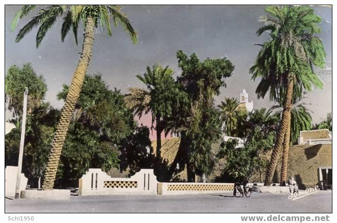 CR ~~ ALGERIE / EL GOLEA / La place charles de foucault