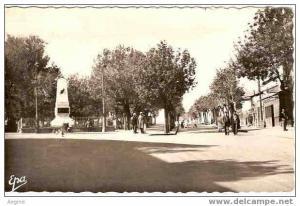 ALGERIE- ref no 414- bouira - monument aux morts  - bon etat