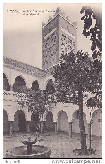 Algerie miliana interieur de la mosquee et le minaret for Interieur algerie