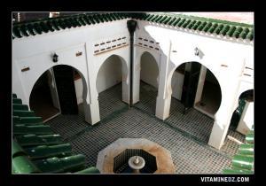 Patio de Dar Loukil mitoyenne de la mosquée de Sidi Boumediene