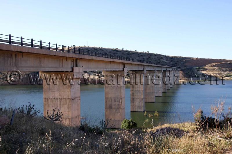 Pont traversant le Barrage de Hammam Boughrara