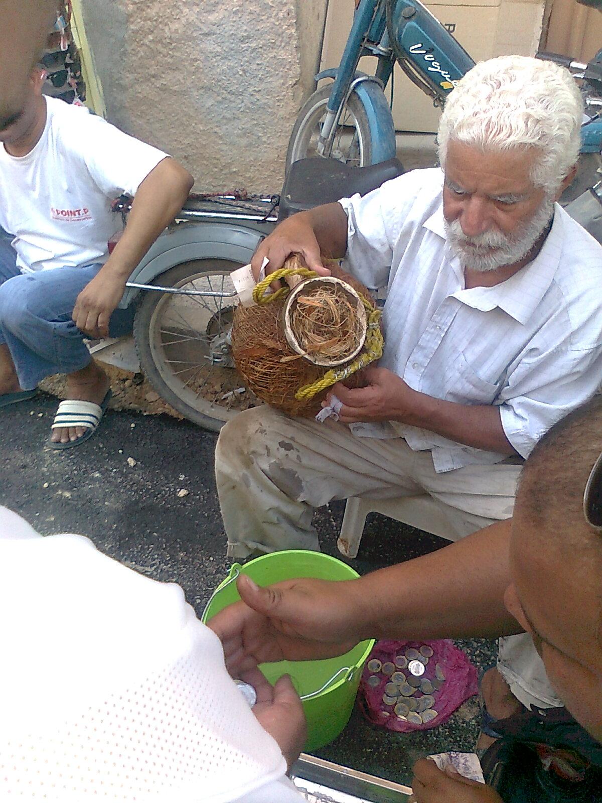 Le jus de palmier ( lagmi )!
