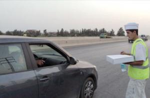 Chelghoum Laïd - Sur l'autoroute est-ouest: Ces jeunes au grand cœur en ce mois de pièté