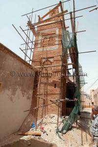 Mosqu�e des Ouled El Imam toujours en chantier ... plut�t � l'abandon