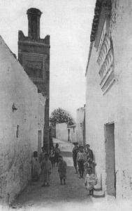 Derb des Ouled Imam avec sa mosquée portant le même nom
