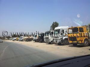Crise du carburant à Tlemcen ... Pas seulement les hallabas