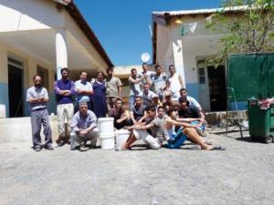 Commune de Haizer (Bouira): Chantiers «Touiza» dans les écoles primaires