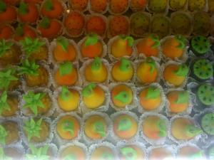 حلويات فاكهة