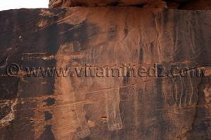 Bélier de Boualem (Kebch Boualem) Gravures rupestres de Boualem, wilaya d'El Bayadh