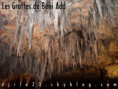 Tlemcen - Grandeur et d�cadences des grottes de Beni Add