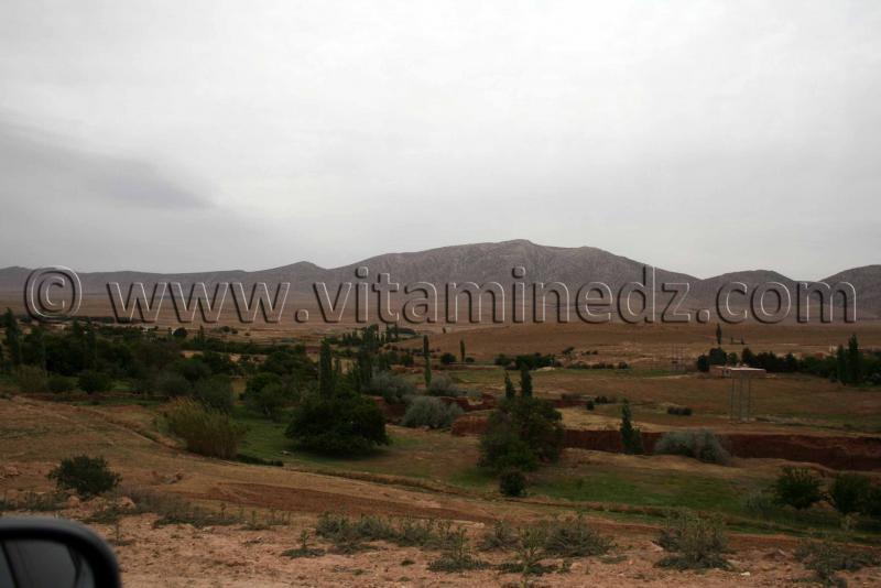 Station rupestre de Oudiane commune de Boualem, wilaya d'El Bayadh