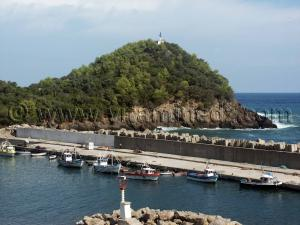 Jijel - Ziama Mansouriah, Histoire île Mansouria (Photo-Septembre 2005)